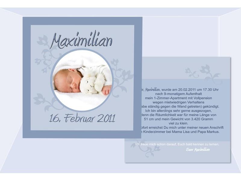 Fotokarten Einladung mit nett einladung beispiel