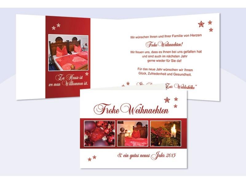 Weihnachtskarte gesch ftlich mit firmenlogo for Weihnachtskarten mit firmenlogo