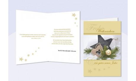 """Weihnachtskarte geschäftlich """"Zauberwald"""""""