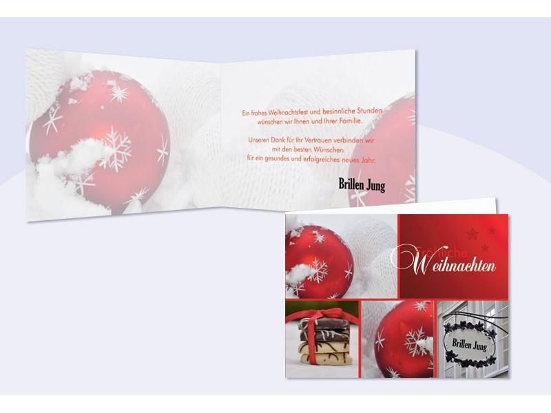 Weihnachtskarten gesch ftlich f r firmen for Weihnachtskarten mit firmenlogo