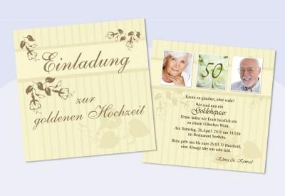 einladungskarten hochzeit, hochzeitseinladungen, goldene hochzeit, Einladung