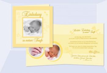 Taufe, Einladungskarten, Danksagungskarten, Taufkerze, Taufspruch (2 ...