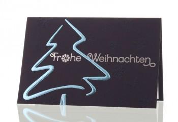 Weihnachtskarte für Firmen, Edle Tanne