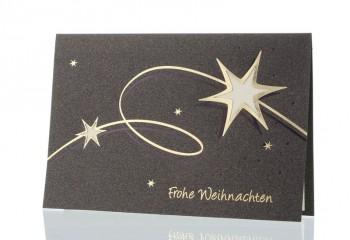 Weihnachtskarte für Firmen, Weihnachtsstern