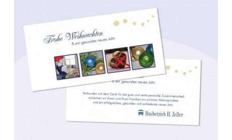 Weihnachtskarte geschäftlich, Weihnachtsgrüße, Weihnachtszauber