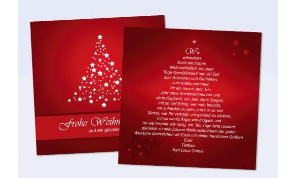 firmen weihnachtskarte weihnachtsbaum. Black Bedroom Furniture Sets. Home Design Ideas