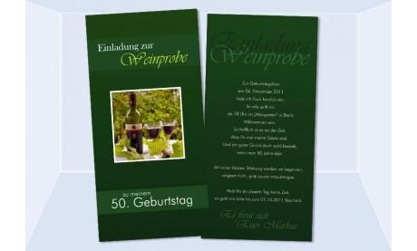 "Karte Geburtstag Einladungskarte DIN Lang ""Markus"""