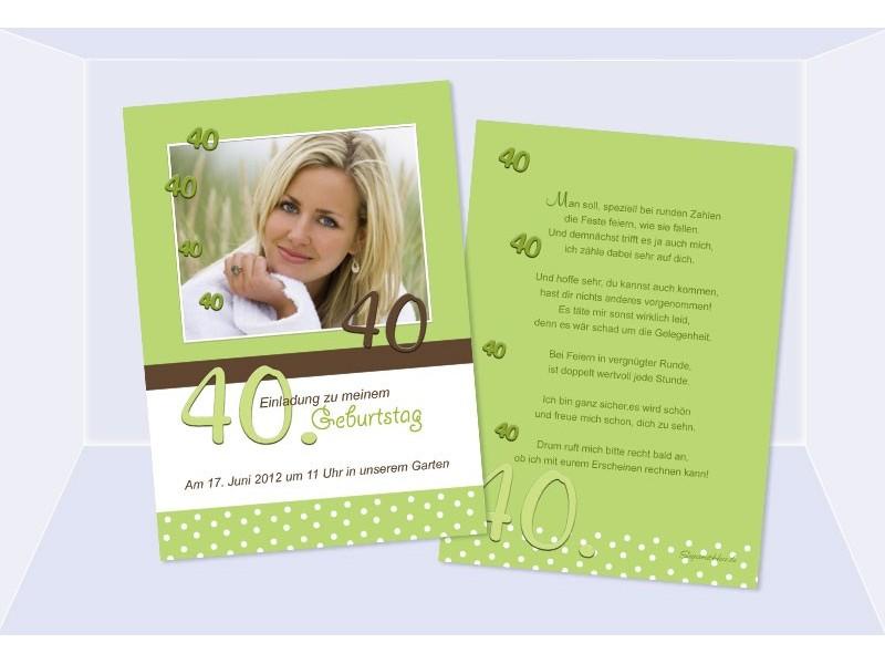 einladungskarte runder geburtstag – needyounow, Einladung