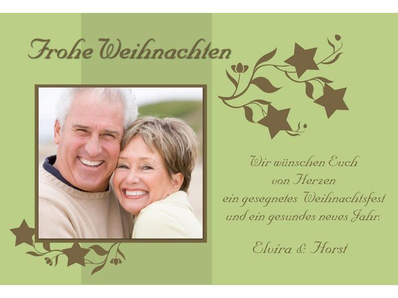 fotokarte weihnachten weihnachtskarte 10x15 cm gr n. Black Bedroom Furniture Sets. Home Design Ideas