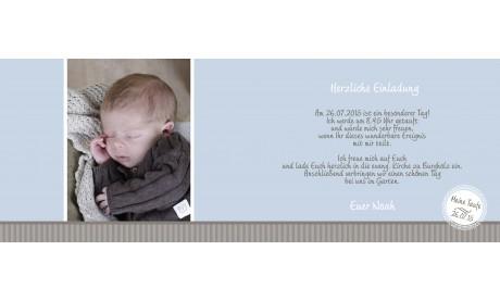 """Einladung Taufe """"Wunderschön"""""""