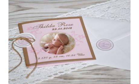 Baby Motiv Button / Sticker