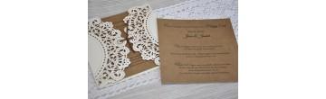 """Einladungskarte Hochzeit """"Pures Vergnügen"""""""
