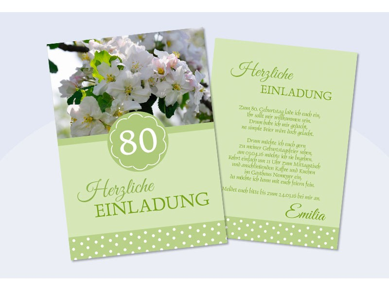 Einladung 60 Geburtstag Herzlich Hellblau