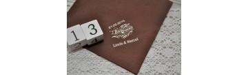 Servietten Buffet, 40x40 cm, individuell bedruckt mit Ihrem Wunschtext