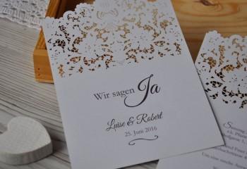 Einladungskarte Zur Hochzeit Mit.