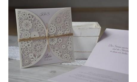"""Einladungskarte Hochzeit """"Natural Look"""""""