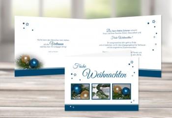 "Firmen Weihnachtskarte ""Elektrotechnik"""