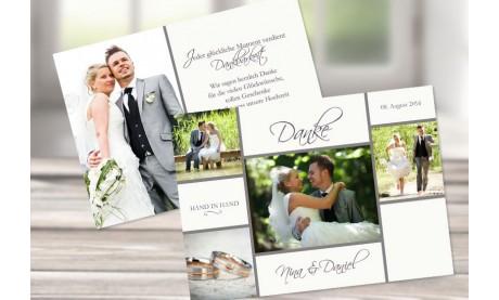 """Danksagungskarte Hochzeit """"Lavendel"""""""