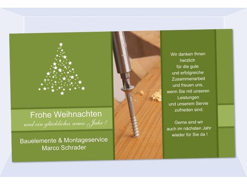 fotokarte weihnachten weihnachtskarte 10x18 cm gesch ftlich