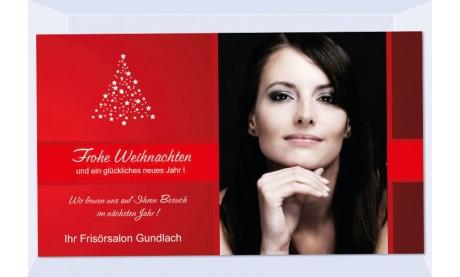 Fotokarte Weihnachten, Weihnachtskart, 10x18, geschäftlich
