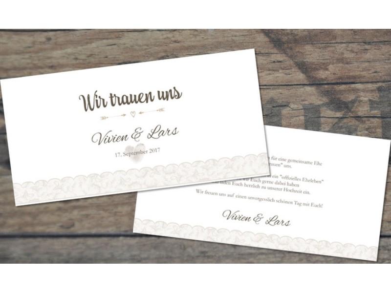 Vintage Diy Hochzeitseinladungen Spitze