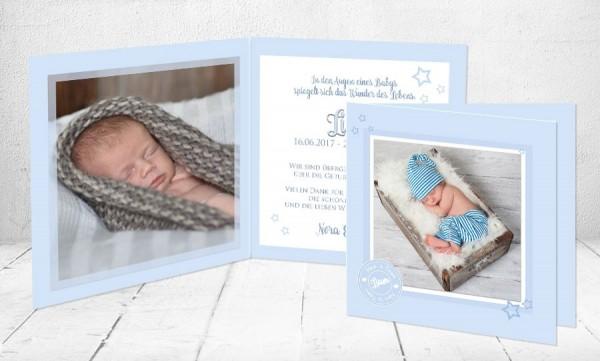 """Geburtskarten Baby """"Vintage"""""""