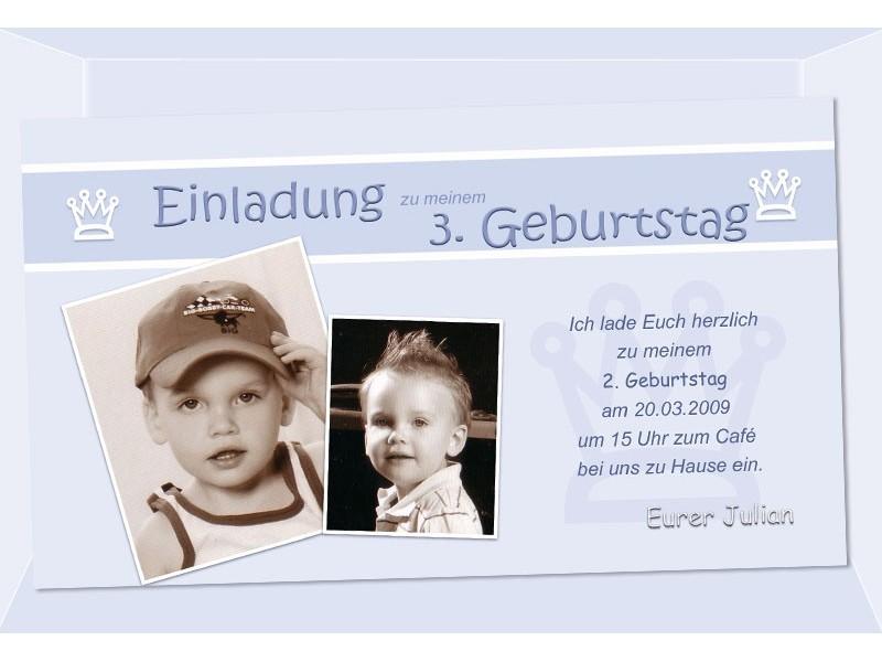Kindergeburtstag, Einladung, Geburtstag, Fotokarte ...