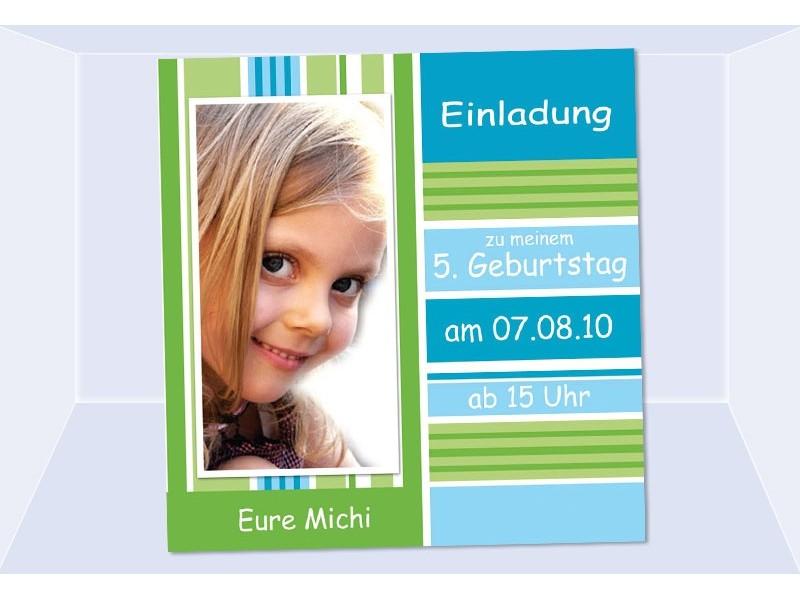 Einladung Kindergeburtstag.
