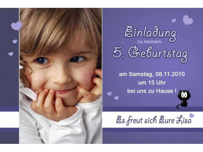 Einladung, Geburtstag, Kindergeburtstag, Fotokarte 10x15 Cm, Eisenbahn,  Einladungs
