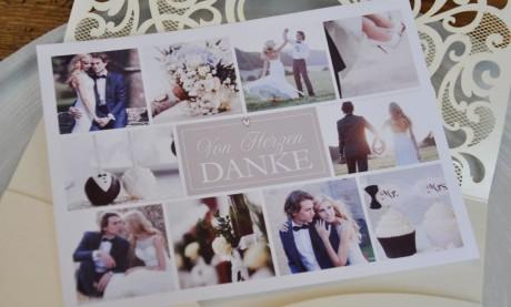 Unsere neuen Dankeskarten zur Hochzeit