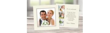 """Danksagungskarte Hochzeit, Karte Hochzeit """"Traumhochzeit"""""""