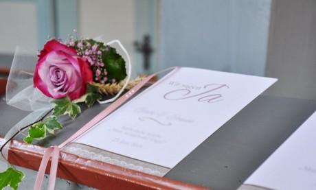 Kirchenheft Hochzeit Vorlage