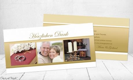 Danksagungskarten-Hochzeit