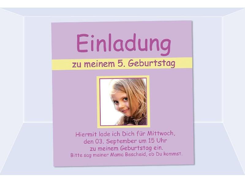 kindergeburtstag, einladung (2) - sagesmitherz.de, Einladung