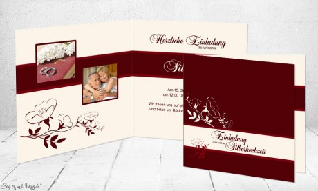 Einladungskarte Hochzeit