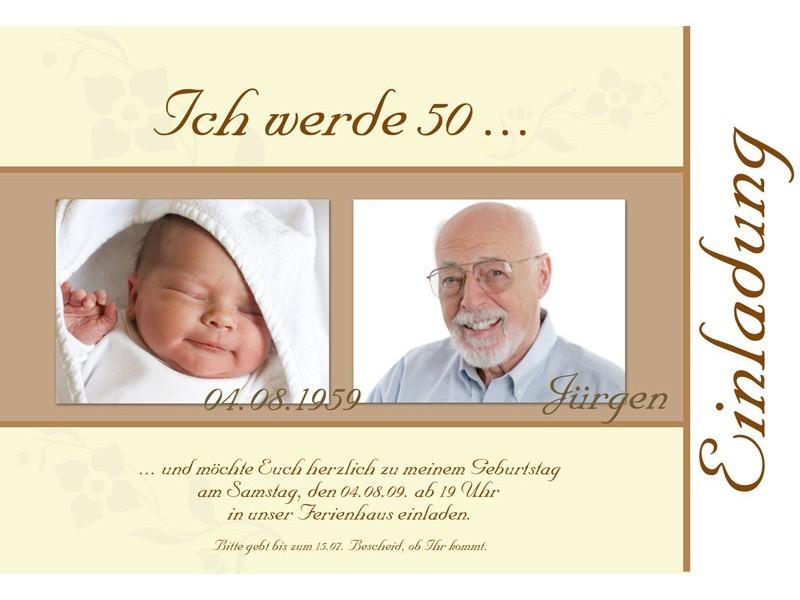 Einladungen Zum 50 Geburtstag Texte – cloudhash.info