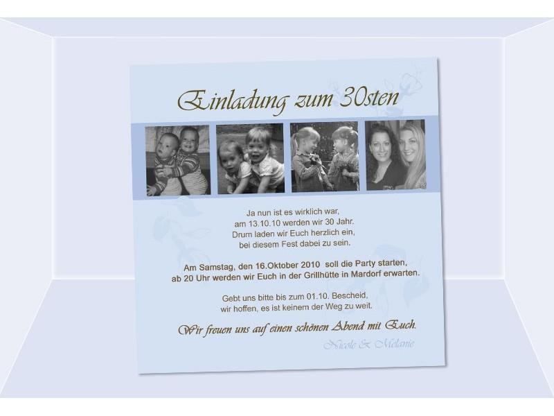 geburtstagseinladungen, einladung 50. geburtstag (4) - sagesmitherz.de, Einladung