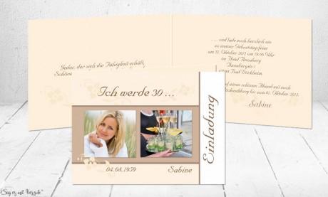 Einladung Zum 30 Geburtstag Einladungskarten 30