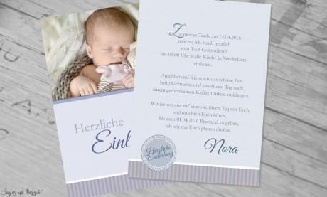 Einladungskarten Taufe Postkarten