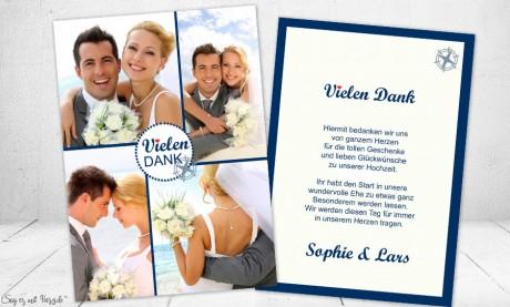 Danksagung Hochzeit Maritim