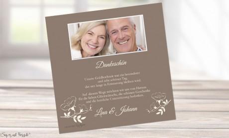 Dankeskarte Hochzeit unvergesslich