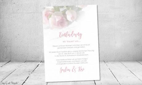 Einladungskarten Hochzeit klassisch