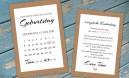Einladungskarten 40. Geburtstag Kalender