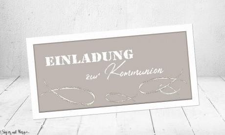 Einladungskarten Konfirmation Kommunion