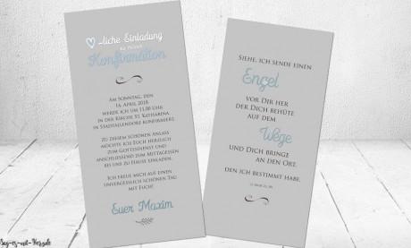 Einladungskarten...