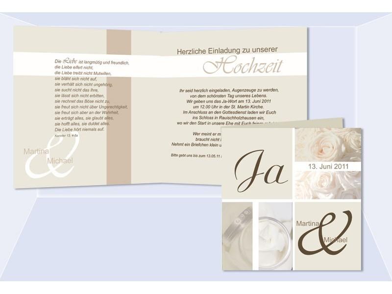romantische einladungskarten hochzeit. Black Bedroom Furniture Sets. Home Design Ideas