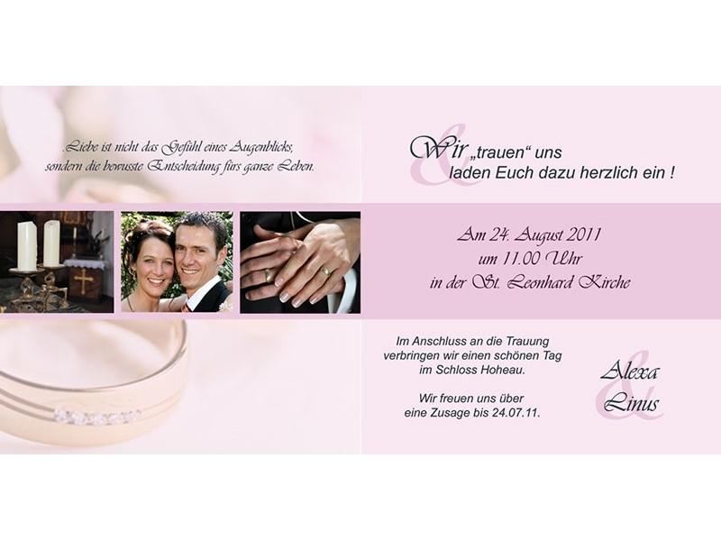 Texte Einladung Hochzeit Klappkarte Einladung Hochzeit Einladung