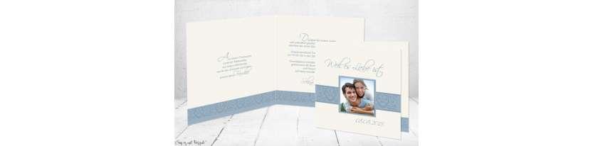 Einladungskarten Hochzeit Foto