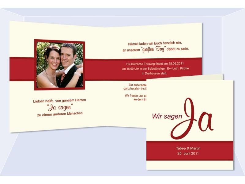 Einladungskarten Hochzeit Individuell Gestalten (3)   Sagesmitherz.de,  Einladungs