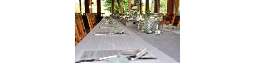 Menükarten Hochzeitsdeko Tisch Teller